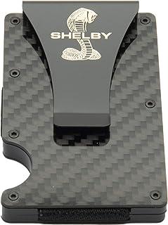 Shelby Carbon Fiber Wallet Money Clip | RFID protection | Holds Currency, Credit Cards, Cash | Genuine Carbon Fiber | Supe...