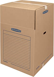 SmoothMove Wardrobe Box Large, 3 Pack (8811001)