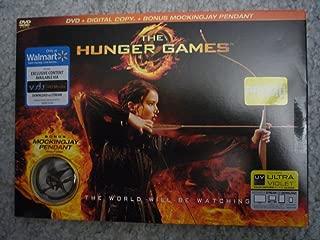 The Hunger Games LIMITED EDITION DVD + Digital Copy PLUS BONUS Mockingjay Pendant