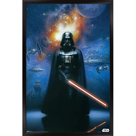 #21 Star Wars Vader Sci Fi Movie 36x48 inch More Sizes Poster Canvas Frame