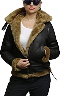 Best leather flying jacket womens Reviews