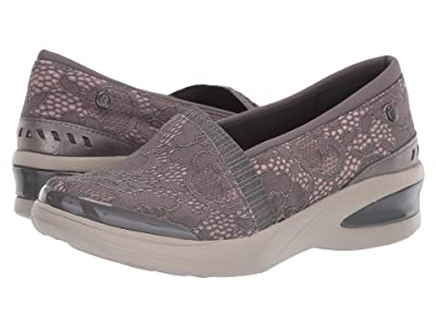 Bzees Flirty (Dark Grey Floral Lace) Women