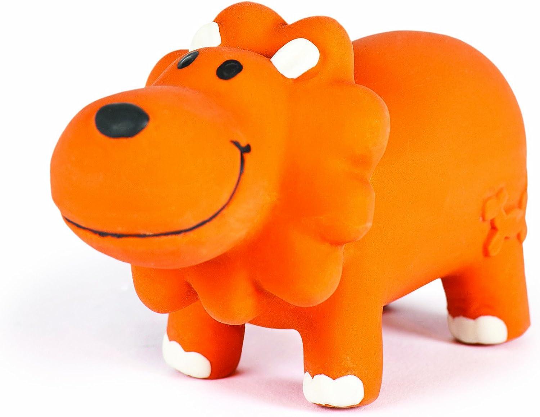 Charming Pet Lil Roamers Pet Squeak Toy, Small, Lion