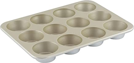 American Kitchen Cookware Nonstick Muffin Pan, 12 Cups