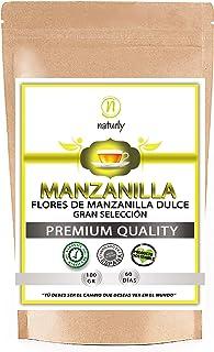 MANZANILLA DULCE NATURAL EN FLOR - Flores dulces de manzanilla natural para preparar infusiones relajantes, infusiones par...