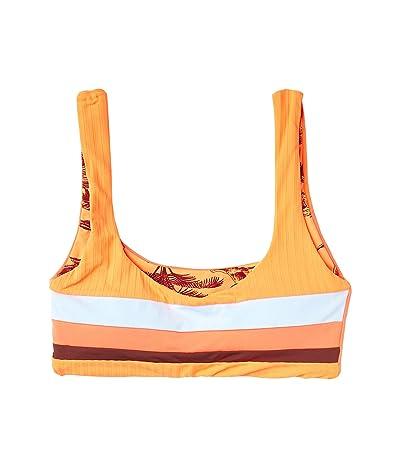 Maaji Backflip Izzy Bralette Top (Orange) Women