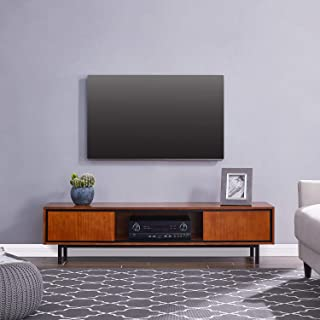 Southern Enterprises Drayton Low-Profile TV Stand media console, Black