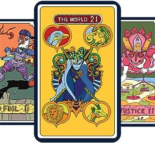 Anime JoJo's Bizarre Adventure Bruno Bucciarati Tarot Card 31 PCS with Box Cosplay Props Board Game Gift