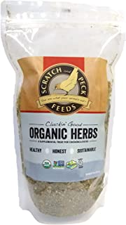 Scratch and Peck Feeds Cluckin' Good Organic Herbs for Chickens and Ducks - 10-oz - 9800-01