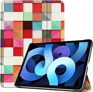 iPad Air 2020 ケース iPad Air4 ケース [Gos Elec] 軽量 薄型 三つ折スタンドケース PUレザー iPad 10.9インチ カバー [HLF]