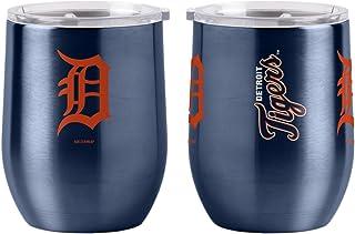 Boelter Brands MLB Detroit Tigers Drink Tumbler Steel 16 Curved, Team Colors, One Size
