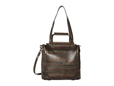 Frye Charlie Multi Handle Tote (Dark Multi) Handbags