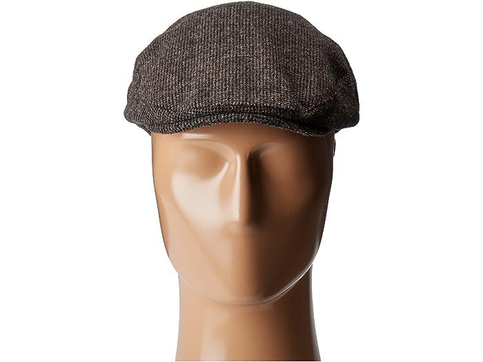 Country Gentleman Mens British Classic Patterned Flat Ivy Cap Newsboy Cap