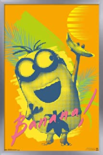 Trends International Illumination Minions - Banana Wall Poster, 14.725