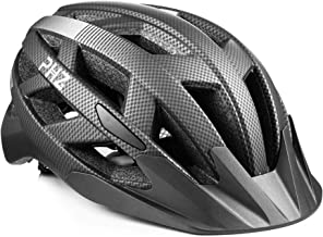 PHZ. Adult Bike Helmet CPSC Certified with Rechargeable USB Light, Bicycle Helmet for Men Women Road Cycling & Mountain Bi...