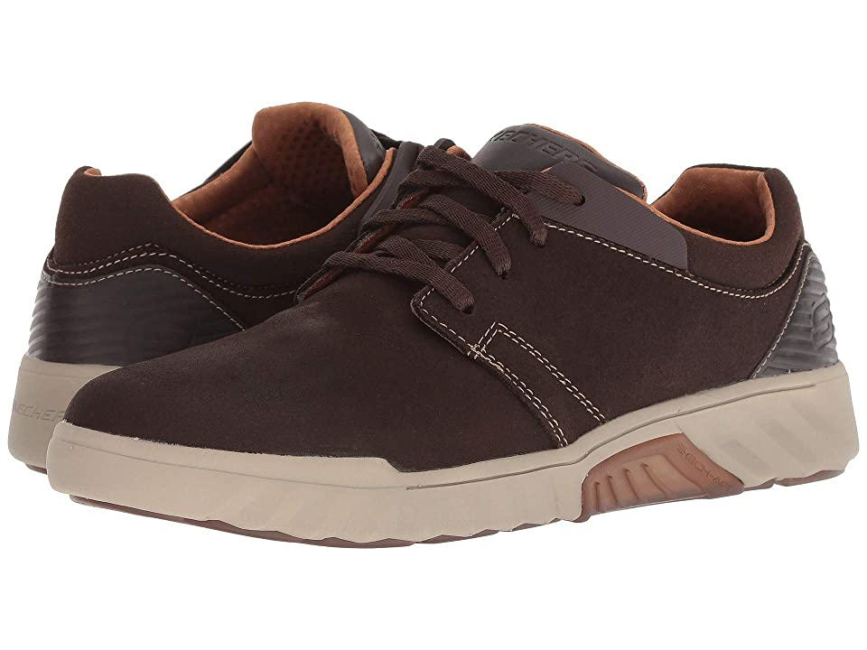 SKECHERS Classic Fit(r) Ryler Cenelo (Chocolate) Men