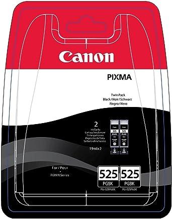 Canon PGI-525 2 Doppelpack original Tintenpatrone Schwarz für Pixma Inkjet Drucker MX715-MX885-MX895-MG5150-MG5250-MG5350-MG6150-MG6250-MG8150-MG8250-iP4850-iP4950-iX6550