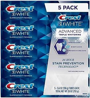 Crest 3D White Advanced Triple Whitening 5-pack