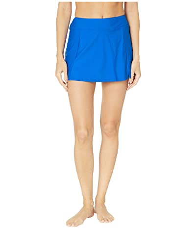 Maxine of Hollywood Swimwear Solids Separate Waist Band Skort Bottoms (Cobalt) Women