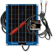PulseTech SolarPulse SP-12 Solar Battery Charger Maintainer, 12 Watt, Blue
