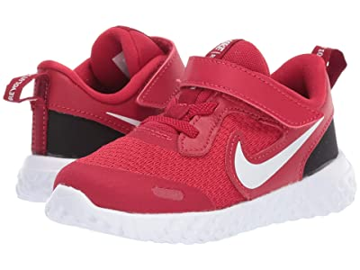 Nike Kids Revolution 5 (Infant/Toddler) (Gym Red/White/Black) Boys Shoes