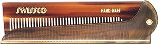 Swissco Tortoise Folding Comb