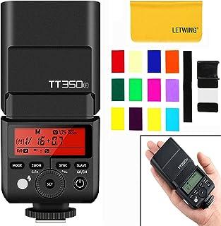 Godox TT350F スピードライト 2.4Gワイヤレス マスター&スレーブ 1 / 8000S HSS TTL フラッシュ スピードライトFUJIカメラ適用対応機種X-Pr02, X-T2, X-T1, X-T20, HS50EXR, X-Pr01, X-A3, HS35XR, XT10, SL1000, X-E1,X100F