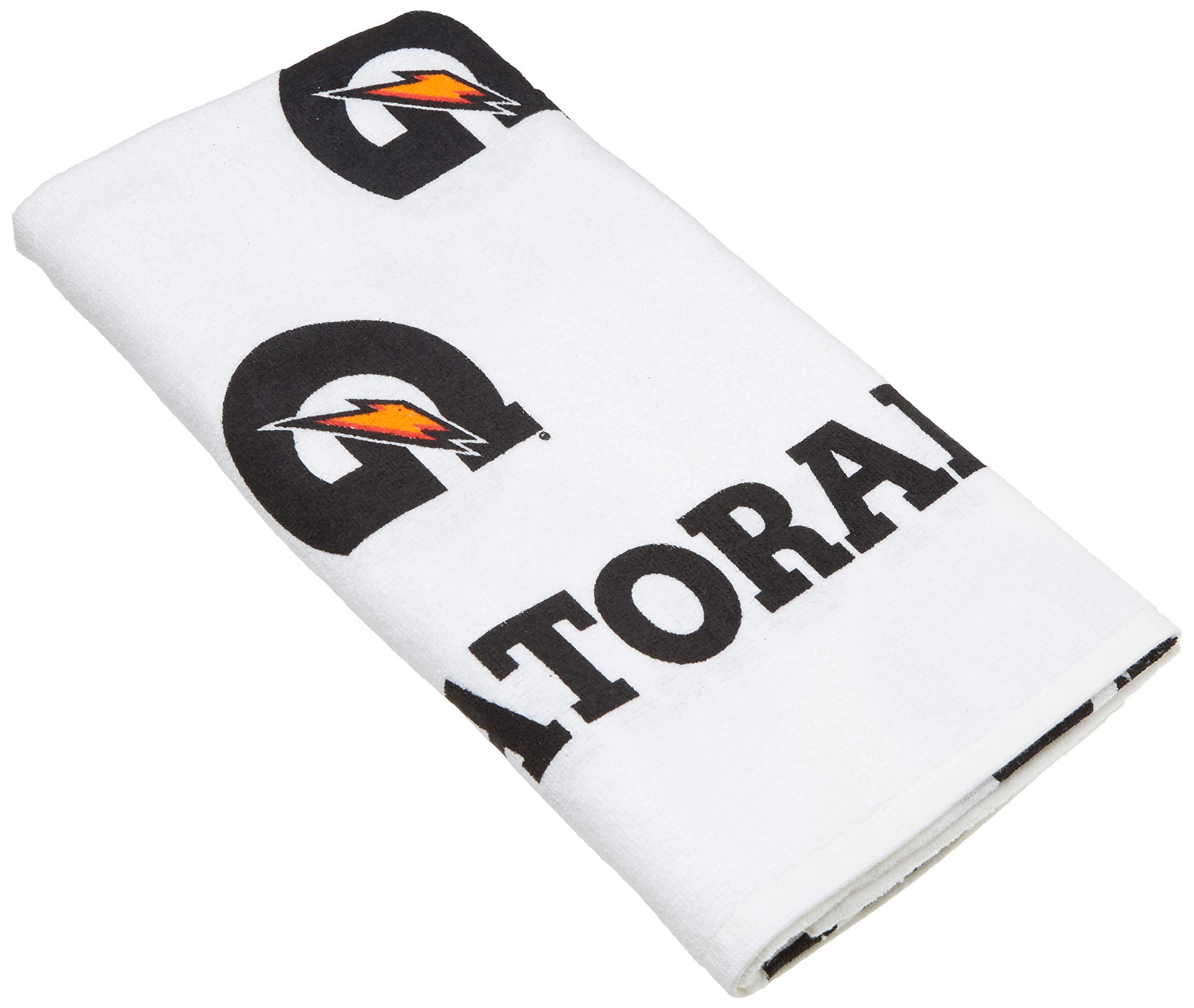 Gatorade Towel White Black Orange