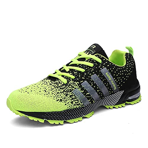 meet 7c297 f6a59 KUBUA Mens Running Shoes Trail Fashion Sneakers Tennis Sports Casual Walking  Athletic Fitness Indoor and Outdoor