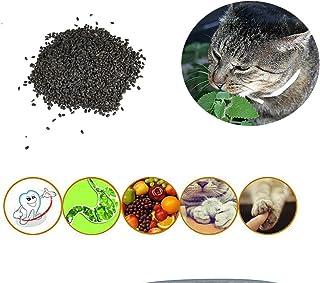 Etopfashion 自宅 キャットニップの種 キャットミント 種 小さい粒子 猫の胃腸消化に役に立つ ストレス解消 ミネラルに富む 10g ?1200カプセル