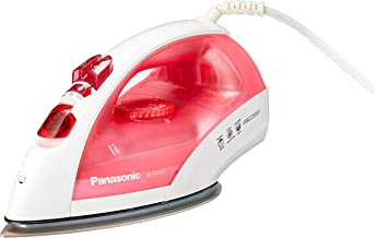 Panasonic NI-E410TRSH Steam Iron, 1.1kg, 2150W (color may vary)