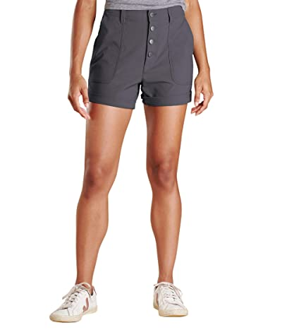 Toad&Co Rover High-Rise Shorts (Soot) Women