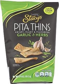 STACY'S PITA CHIPS Perfectly Thymed Pita Crisps - 6.75 OZ - CS x8