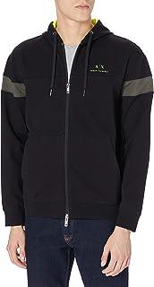 Armani Exchange Men's Black/Truffle/Acid L Sweatshirt