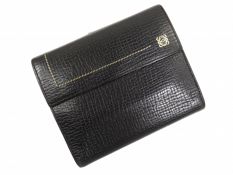 [ロエベ] LOEWE 二つ折り財布 レザー X10419 中古
