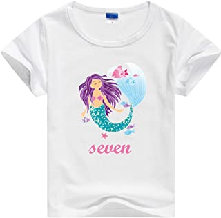 Best mermaid birthday girl shirt Reviews
