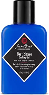Jack Black - Post Shave Cooling Gel, 3.3 fl oz - PureScience Formula, Aftershave Gel, Soothes Razor Burn, Aloe Leaf Juice and Chamomile, Natural Ingredients, Calms and Hydrates Skin