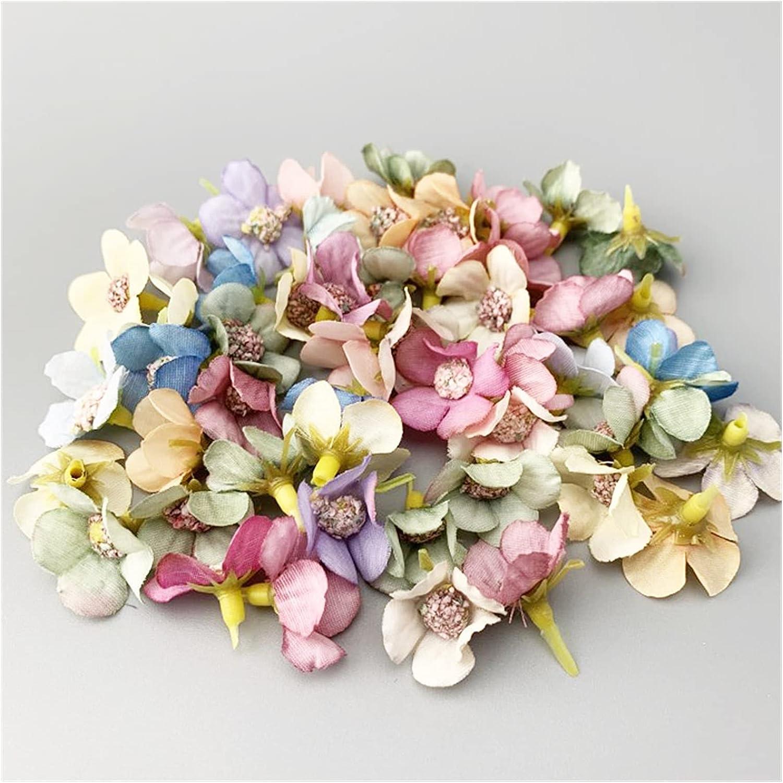 Artificial Flowers 50pcs Mini Daisy P Max 64% OFF for Flower Head Cheap