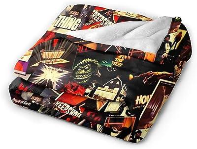 "KAGOU Horror Movies Collage Ultra-Soft Micro Fleece Blanket 60"" X50"