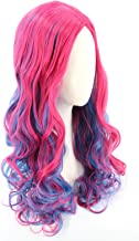 pink and blue wig