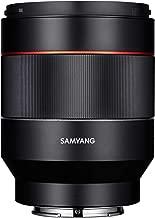 SAMYANG single focus standard lens AF 50 mm F 1.4 full size for Sony αE Black