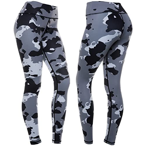 f99cf1656ca44 CompressionZ High Waisted Women's Leggings - Smart, Flexible Compression  for Yoga, Running, Fitness