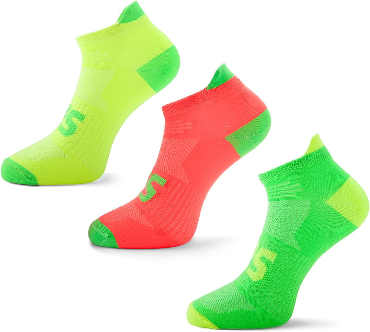SLS3 Thin Running Socks - Selling rankings Anti Ultra Light Colors Neon Blister All items in the store