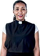 Mercy Robes Ladies Clerical Tab Dickey (Black)
