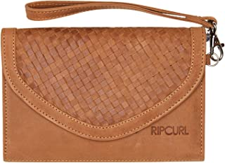 Rip Curl Women's Basket Rfid Os Leather Wallet Soft Brown