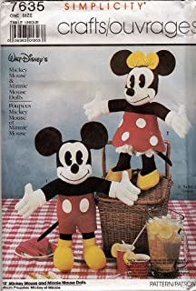 Best mickey mouse sewing pattern Reviews
