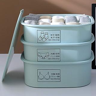 QWEA Casier Rangement,Organiseurs de tiroir,Panier de Rangement,matériau PP respectueux de l'environnement,Une Grille,Un O...