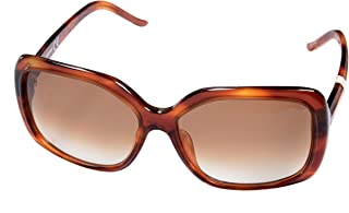 Just Cavalli Women's Rectangular Brown Sunglasses JC257S 53F 58 15 130