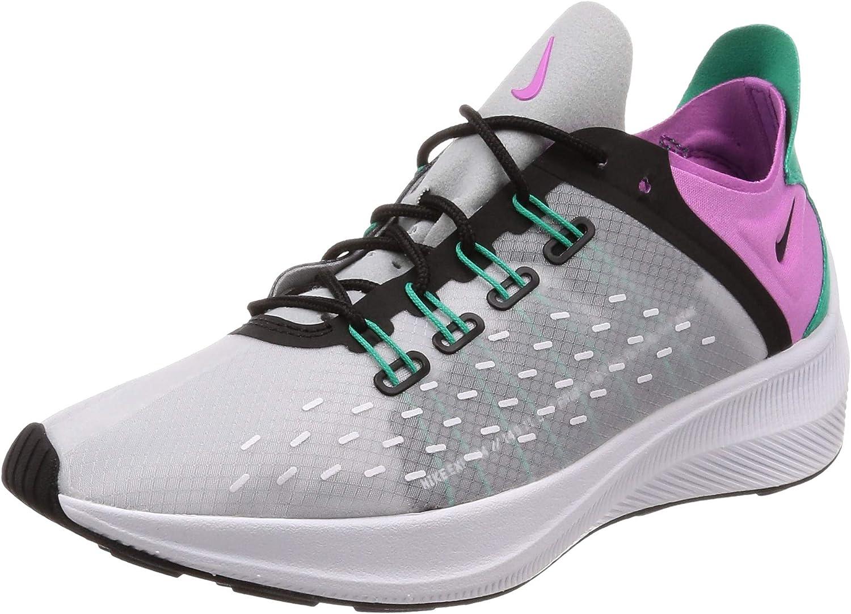 Nike Women's EXP-X14 Wolf Grey Clear Emerald Black purple AO3170-003