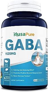 gaba gamma aminobutyric acid dosage